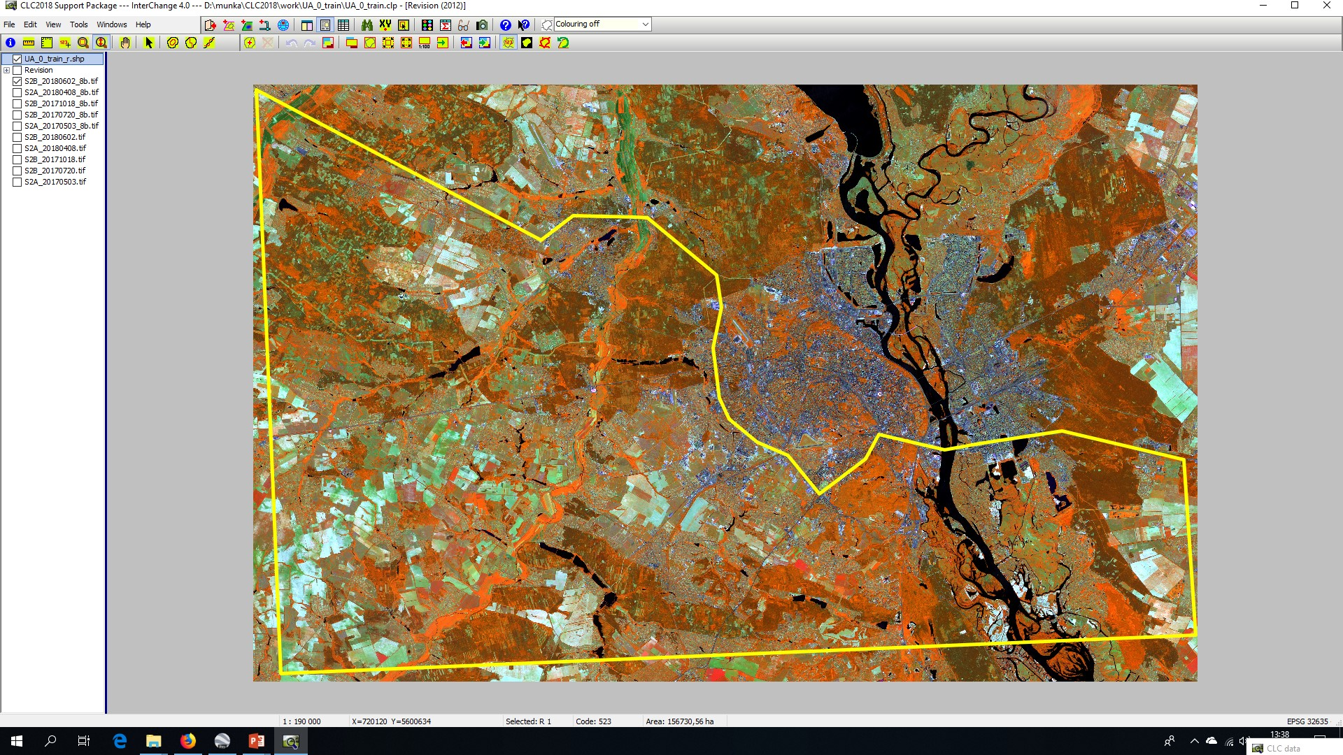 Ukraine: In-depth training on land cover mapping — ENI SEIS