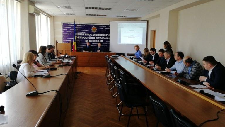 10 April 2018 | Republic of Moldova and EU experts explore water data management
