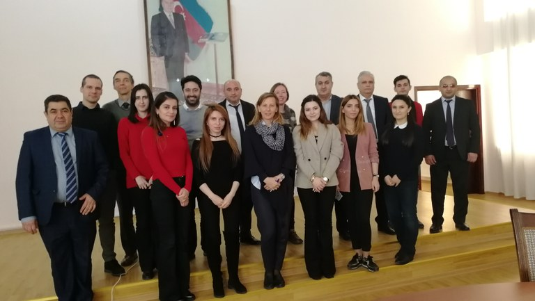 12-16 February 2018 | Azerbaijan: In-depth water data management training