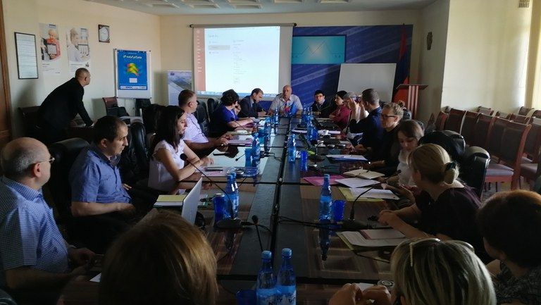 13-14 June 2019 | Kick-off meeting on the development of the eco portal for Armenia