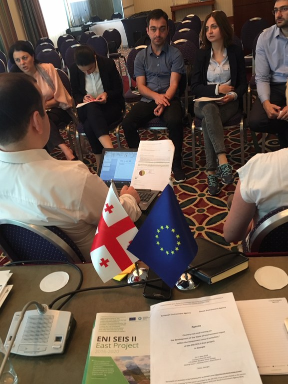 15-17 May 2018 | In-depth training on the development of the state of environment reports in Georgia