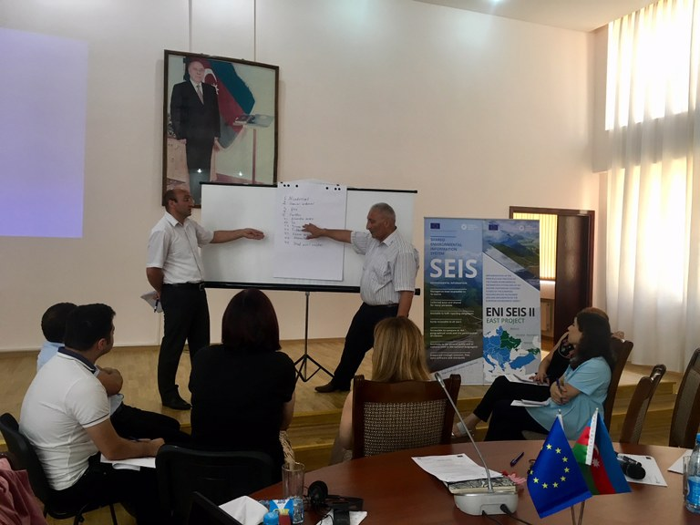 17-19 July 2018 | In-depth training on the development of the state of environment reports in Azerbaijan