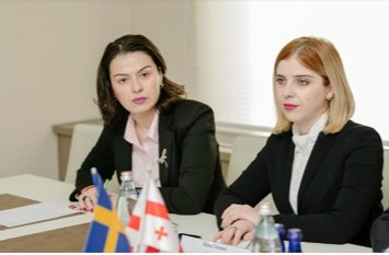 21 March 2019 | The Ministry of Environmental Protection and Agriculture of Georgia met with the representatives of the Swedish Delegation