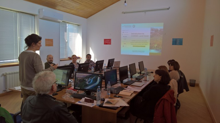 23-25 April 2018 | In-depth training on land cover mapping in Georgia