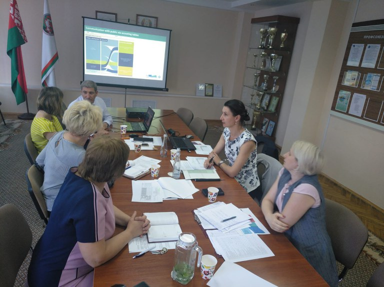 25 June 2019 | Discussion on the water flow accounts in the Republic of Belarus