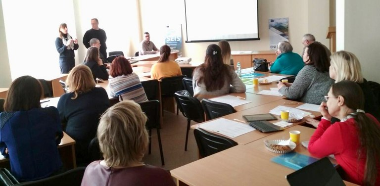 26 March 2018 | Ukraine: In-depth water data management training by ENI SEIS II East