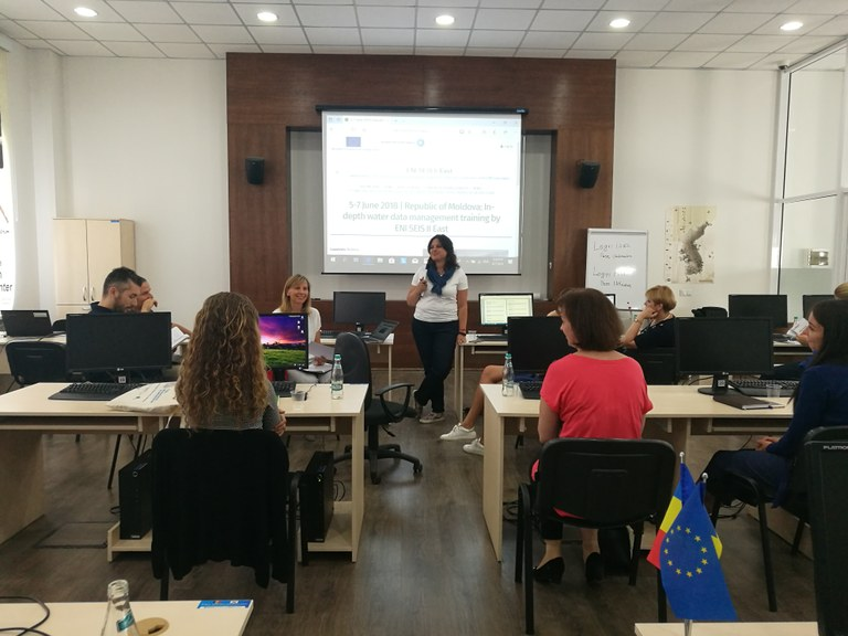 5-7 June 2018 | Republic of Moldova: In-depth water data management training by ENI SEIS II East