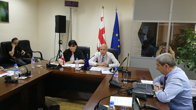 10-11 June 2019   Kick off meeting for the water information system of Georgia