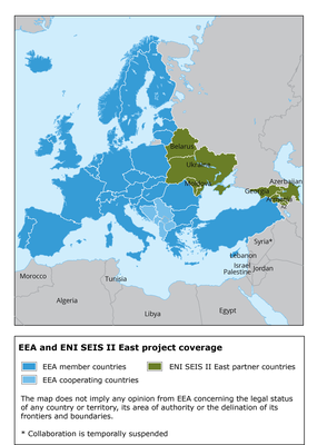 EEA and ENI SEIS II East Project coverage