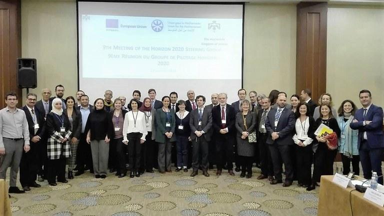 9th Horizon 2020 Steering Group Meeting, 29 January 2018, Dead Sea, Jordan