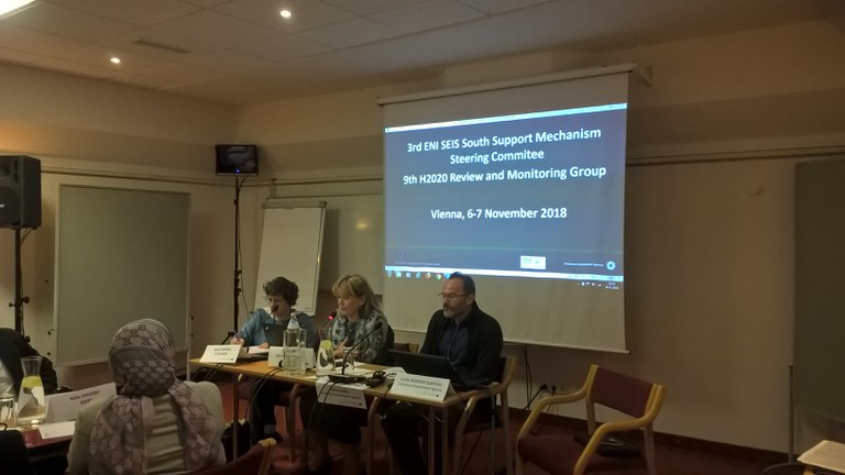 Annual meeting of the Steering Committee of the ENI SEIS II South Support Mechanism project and Horizon 2020 (H2020) Review and Monitoring (RM)