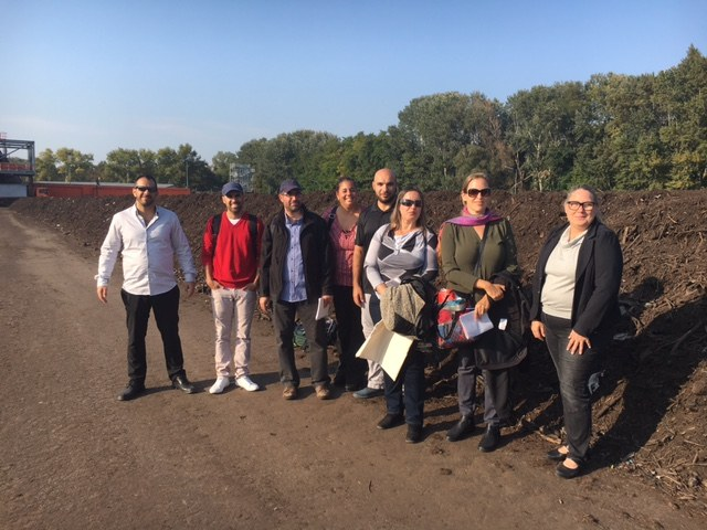 Environment Agency Austria shares it's experience on waste monitoring, data collection and production of statistics with an Israeli delegation during a 4-day study tour