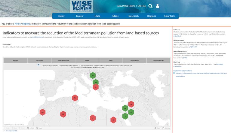 Towards integration of Mediterranean data flows