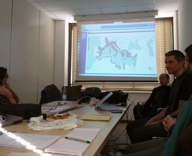 EEA meeting with Information and Communication Regional Activity Center (INFO RAC) 6-8/02, Rome, Italy
