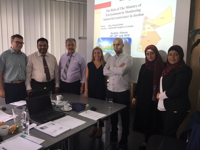 Jordan Delegation visits Austria to learn more about Industrial wastewater - Regulations, Parameters & Indicators, Treatment Techniques, Monitoring, Statistics and Reporting
