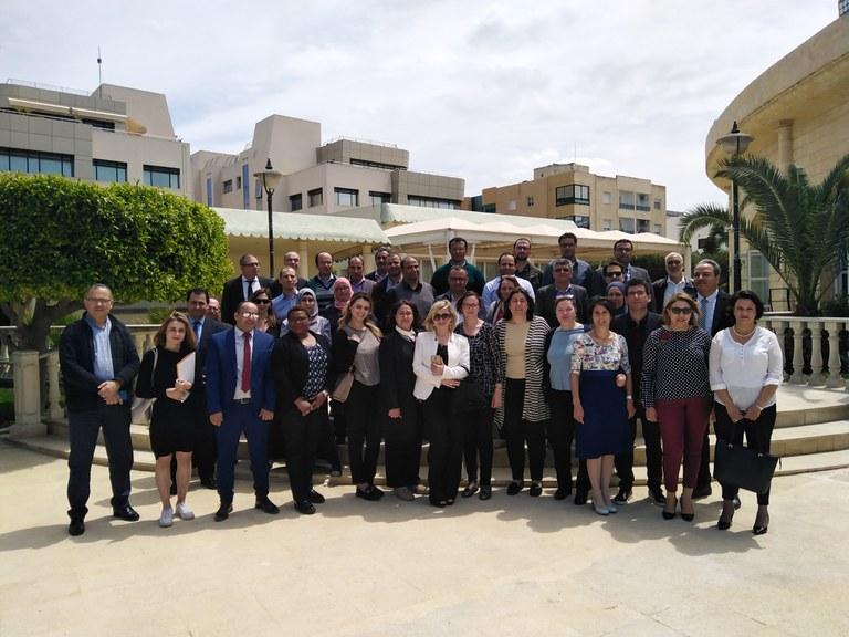 Tunisian stakeholders discuss environmental information, 30 April 2019